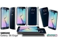 Sim Free Samsung Galaxy S6 Edge Black 64GB