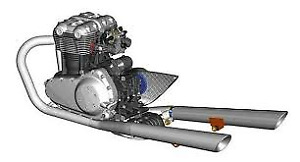 **looking for a inline twin chain drive engine and electricals**