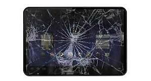 Looking for damaged tablets.