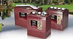 Deep Cycle Battery (Batteries) - Golf Cart, Solar, RV and more
