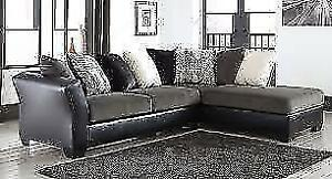 Ashley Armant Ebony Sectional