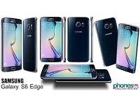 Sim Free Samsung Galaxy S6 Edge Black 32GB
