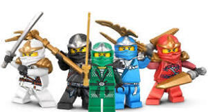 Lego Ninjago Action Figure Spinner, Battle Arena and Carry Cases