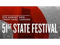 4 51st State Music Festival Tickets For Sale