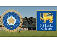 India vs Srilanka ICC Champions Trophy 6 tickets