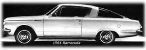 1964 - 1965 PLYMOUTH BARRACUDA VALIANT PARTS