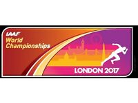 IAAF World Athletics Tickets Usain Bolt 100m FINAL - Price for family ticket