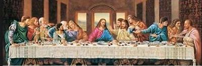 INSPIRATIONAL THE LAST SUPPER 1000 PIECE PANORAMIC PUZZLE on Rummage