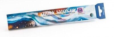(19,90 €/100g) Holy Smokes, Blue Line, Isis, 10 g,  ayurvedische Räucherstäbchen