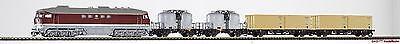 TT Zugset BR130 + 4 Güterwagen DR Ep.IV Piko 47010 Neu