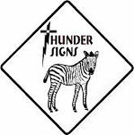 zebracolor/Thunder Signs
