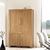 A flatpack 5-Shelf Storage Cabinet 190(H)x120(W)x42(D).