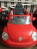 electric car ride ons -  Beatle  Red
