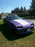 Well maintained classic Camero.