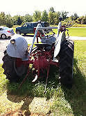Two Ford 8N Tractors