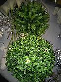 plantes artificielle interieur exterieur cèdre,boule,buis,gazon