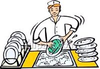 Looking for an open dishwasher job!