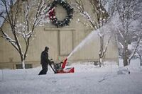 Snow blower snow removal