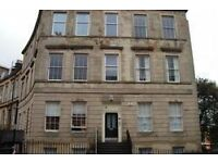 A Two Bedroom Furnished Flat on Lynedoch Street in the Park area of Glasgow (ACT 300)