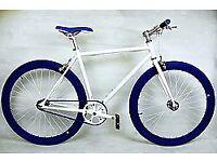 Brand new TEMAN single speed fixed gear fixie bike/ road bike/ bicycles + 1year warranty aaq6