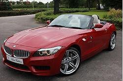 BMW Z4 18i S M-Sport (red, cream leather, sat nav, media pack, parking sensors)
