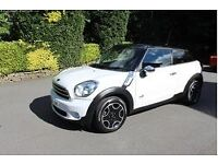 Mini Paceman 1.6 D ALL4 - Pepper White - mint condition
