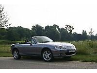 AMAZING MX 5 convertible, is dark grey, low mileage for year, fantastick condition. alloys, FSH