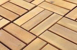 Kuta wooden tiles from JYSK