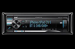 Kenwood KDC-BT73DAB DAB/Bluetooth car radio