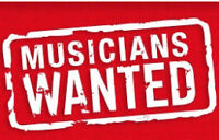 Instrumentalists Wanted