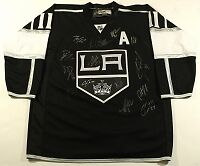 LA Kings Team Signed Hockey Jersey With Authenticity