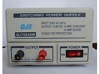 10-12amp Switch Mode 240v 12v DC Power Supply QJE