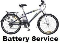 POWACYCLE WINDSOR SAILSBURY Electric Bike Battery Service