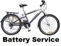 POWACYCLE WINDSOR SAILSBURY Electric Bike Battery Service