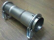 44mm tuyau echappement connecteur manchon accouplement. Black Bedroom Furniture Sets. Home Design Ideas