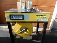 STRAPACK JK-2, Semi-Automatic Polypropylene Strapping Machine, Gordian Strapping