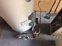 MEGAFLOW WATER HEATER - ELECTRICALLY OPERATED-CAN BE USED OFF-PEAK. HAS ALL PIPEWORK .