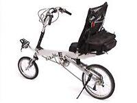 Fun bike-e Recumbent Bicycle