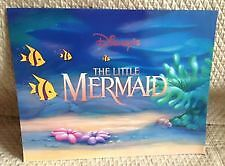 Walt Disney - Commemorative- 4 Lithographs - The Little Mermaid
