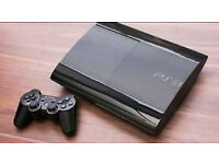 Ps3 slim, used, good condition. Fifa 17, gran turismo 6, midnight club complete edition and 2 pads.