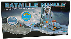 NAVAL FORCE ELECTRONIC TALKING SEA BATTLE GAME POWER BRAIN