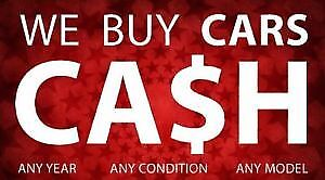 $ INSTANT CA$H FOR YOUR SCRAP-DAMAGED-UNWANTED CARS $