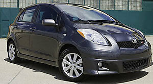 2007-2011 Toyota Yaris Hatchback parts car