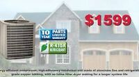 High Efficiency Air Conditioner Summer Special From $1599