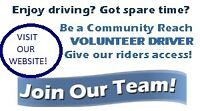 Love to Drive? Become a Volunteer Driver with Community Reach!
