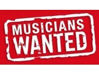 Vocalists and instrumentalists wanted for new band