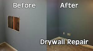 Never There Drywall Repair.