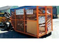 cardboard/plastic removal £50.00 per tonne
