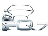 Audi Q7 Genuine Parcel Shelf Luggage Load Cover Blind