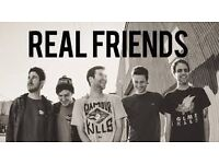 1 Real Friends Ticket